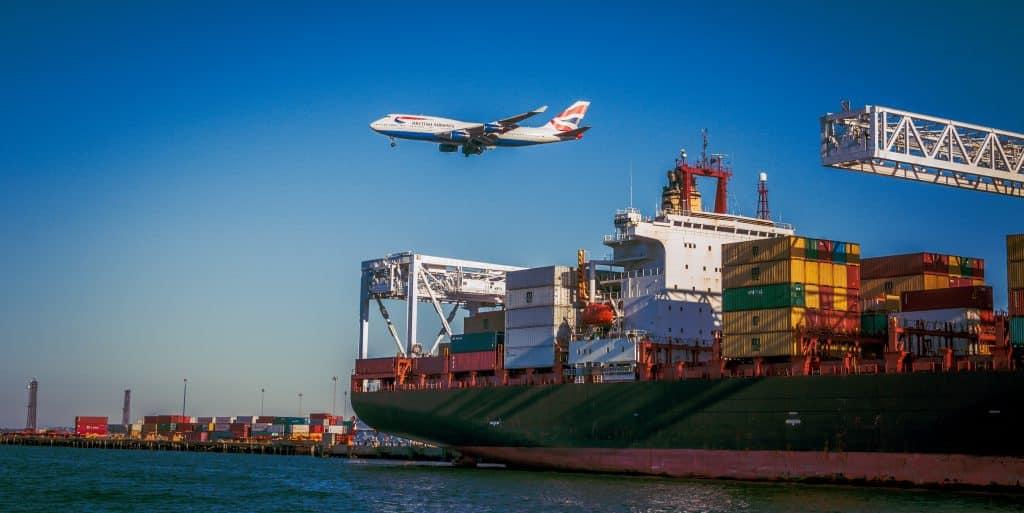 transports aérien et maritime